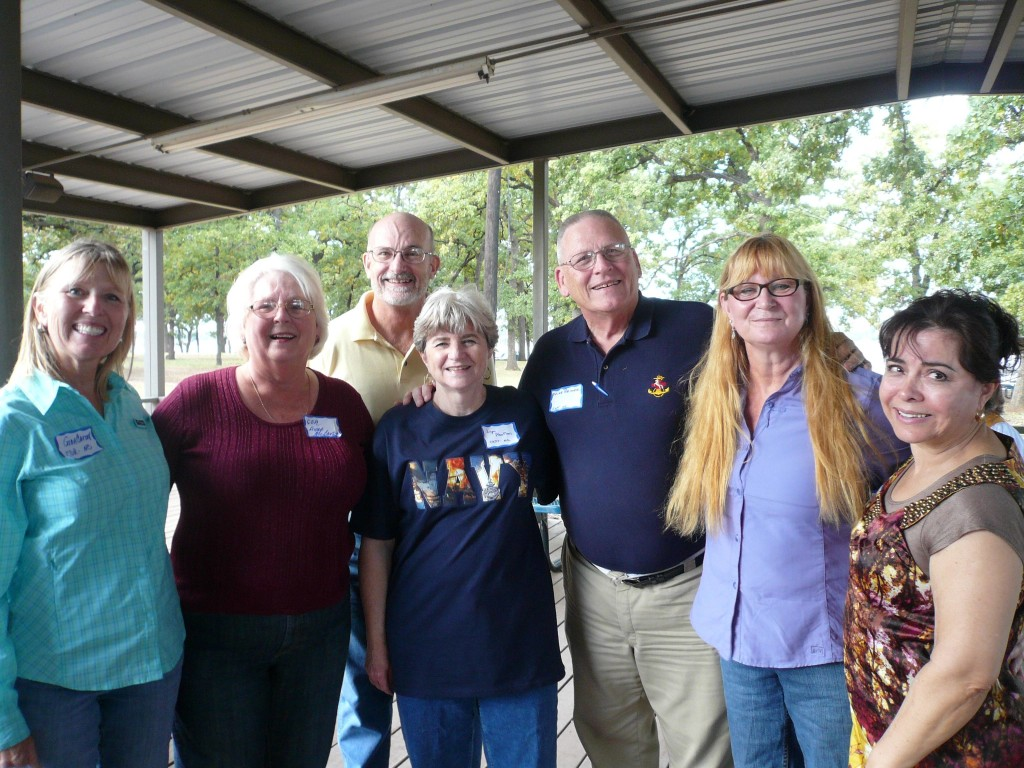 Gina Carroll, Anne McCarty, Jim McGraw, Lynn AbuMari, Mike Beimer, Chris Walsh, Rosa Phillips